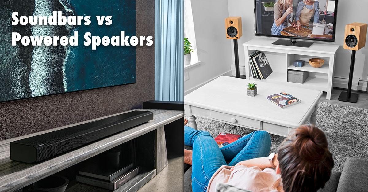 soundbars vs speakers